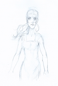 Sketch of Sarah